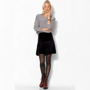 Silence+Noise Stitch Cropped Sweater
